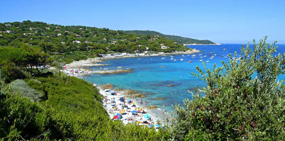 My favorite beaches in the Golfe de Saint-Tropez